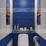 """дизайн ванной комнаты Уралкерамика (Uralceramica) """"Нью Йорк"""""""
