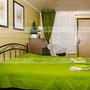 Дизайн отеля. Дизайн гостиничного номера. Зеленая комната. Стиль прованс