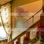 Дизайн отеля. Дизайн лестничной клетки. Стиль прованс