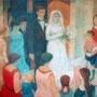 La mariée - 1955-58 - Hst - 238/292 - ©Adagp Paris 2014
