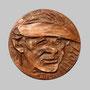 André Lhote (Artiste peintre) / face - Bronze - 70 x 70 mm - ©Adagp Paris 2014