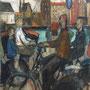Les cyclistes d'Amsterdam - 1951 - Hst - 195/130 - ©Adagp Paris 2014