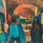 Le bazar de Chiraz (Iran) - circa 1973 - Hst - 50/61 - ©Adagp Paris 2014