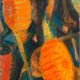 Fanfare et lampions du 14 juillet (Massat, Ariège) - 1962-63 - Hst - 114/51 - ©Adagp Paris 2014