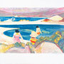 Baignade au Liamone (Corse) - Circa 1990 - 41/60 (hors marges) - ©Adagp Paris 2014