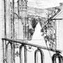 Massat (Ariège) - Encre de chine - 1957 - 32 x 24 cm - ©Adagp Paris 2014
