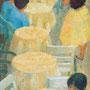Les tables de Camprodon (Espagne) - 1958-59 - Hst - 100/40 - ©Adagp Paris 2014 - Musée de Bagnols-sur-Cèze (photo du musée)
