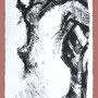Carte de voeux - lithographie - circa 1960 - 21 x 10,7 cm - ©Adagp Paris 2014