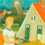Le moulin d'Elden (Hollande) - 1957 - Hst - 81/54 - ©Adagp Paris 2014