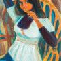 Isabelle - circa 1976 - Hst - 116/81 - ©Adagp Paris 2014