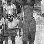 Retour du marché, Carrare (Italie) - 1949-50 - Hst - 195/114 - ©Adagp Paris 2014