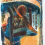 """Illustration pour """"Les lépreuses"""" de Henri de Montherlant - 1964 - Ed. Lidis, Imprimerie Nationale, Paris - 28/21 - ©Adagp Paris 2014"""