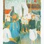Jour de fête à Belle-Ile - Circa 1957 - 49,5/40 (hors marges) - ©Adagp Paris 2014