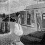 Station service en provence - 1959 - Hst - 38/46 - ©Adagp Paris 2014