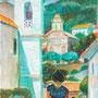 Cargèse, les deux églises (Corse) - circa 1980 - 41,1/31,4 - ©Adagp Paris 2021