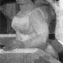 Femmes sur le pont (Venise) - 1953-54 - Hst - 146/97 - ©Adagp Paris 2014