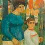 Promenade familiale - 1954 - Hst - 195/130 - ©Adagp Paris 2014