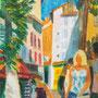 Soleil dans la ruelle (Draguignan) - circa 1976 - 46/37,5  -  ©Adagp Paris 2014