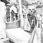 Bernes - Encre de chine - circa 1984 - 41 x 31,5 cm - ©Adagp Paris 2014