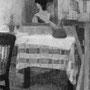 La serveuse au miroir - 1955-56 - Hst - 81/65 - ©Adagp Paris 2014