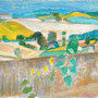 Tournesols dans les blés - près Puylaurens (Tarn) - circa 1987 - 31,4/41 - ©Adagp Paris 2014