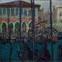 Venise - Marché aux poissons - 1948 - Hst - 46/61 - ©Adagp Paris 2014
