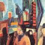 Jour gris à Broadway (New-York, USA) - 1965-66 - Hst - 100/65 - ©Adagp Paris 2014