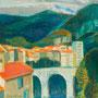 Le pont de Saint-Claude (Jura) - circa 1965 - Hst - 81/100 - ©Adagp Paris 2014