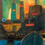 Coucher de soleil sur Chicago - 1968 - Hst - 73/54 - ©Adagp Paris 2014