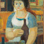 La serveuse (Venise) - circa 1953 - Hst - 92/65 - ©Adagp Paris 2014