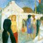 Kermesse à Belle-Ile - Locmaria - 1959 - Hst - 81/100 - ©Adagp Paris 2014
