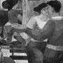 Les amoureux au bal - 1953 - Hst - 130/162 - ©Adagp Paris 2014