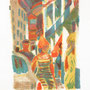 Rue animée - Circa 1965 - 45/31,5 (hors marges) - ©Adagp Paris 2014