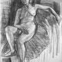 Etude de nu - Fusain - circa 1940 - 65 x 50 cm - ©Adagp Paris 2014