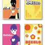 ファッションブランド「Decolo」タグデザイン アイデア