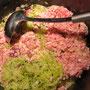 Fleisch-Gemüsegemisch