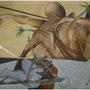 """""""Plan de rapto güajiro"""" mixta/tela 97x116 cms. 2012"""