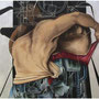 """Sistemas de refugio""mixta/tela 90x116 cms, 2012"