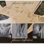"""""""Los Planos de Casa"""" acrílico/tela 110x145 2012"""