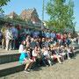 Gruppenbild an der Elbe