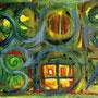 "becoming intimate, The Exhibition - Greta Znojemsky ""Fenster in einer Lehmhütte"""