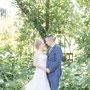 Hochzeitsfotos in Bodersweier in Gärtnerei