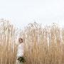 Boho Bride in der Natur