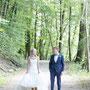 Brautpaar Bilder in der Natur