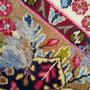 lavaggio e restauro tappeti Udine, tappeto persiano tarmato prima di restauro