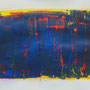 fenster (50x70; acryl+kohle auf papier); 2017