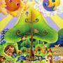 「不思議の森/祝福の木」2007年、展示会用作品/キャンバス、アクリル絵具