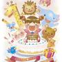 「Happy Birthday!」2012年、展示会用作品/Photoshop