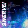 SWERVE! at Knock Koenji event fliyer