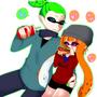 【スプラトゥーン/ボーイ&ガール】いっぱい食べる君が好き!